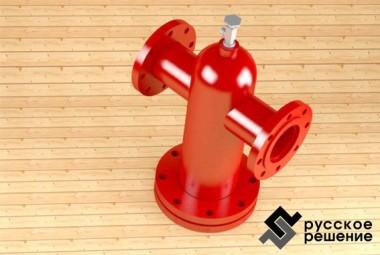 Фильтр сжиженного газа стационарный ФГС Ду 100